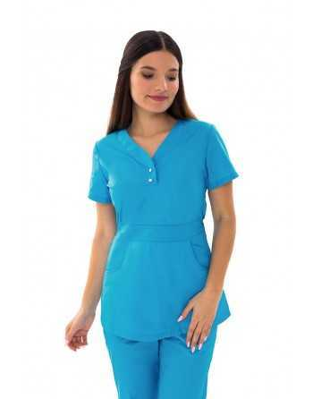 "Costum Medical ""SIDEF"" Albastru"