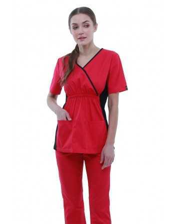 "Costum Medical ""BICOLOR"" Zmeura"