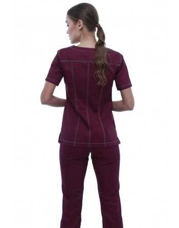 "Costum Medical ""Contrast"" Violet Dama"