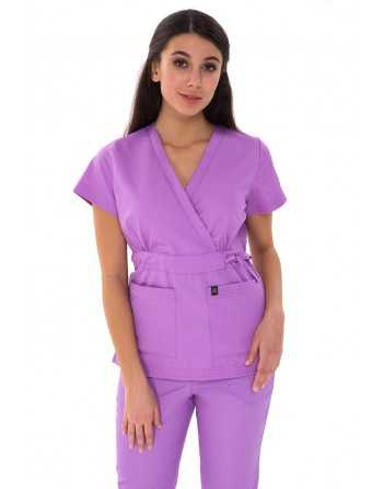 "Costum Medical ""PARTE PESTE PARTE"" Lavanda"