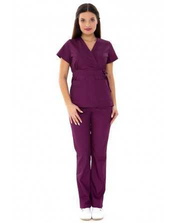"Costum Medical ""PARTE PESTE PARTE"" Violet"
