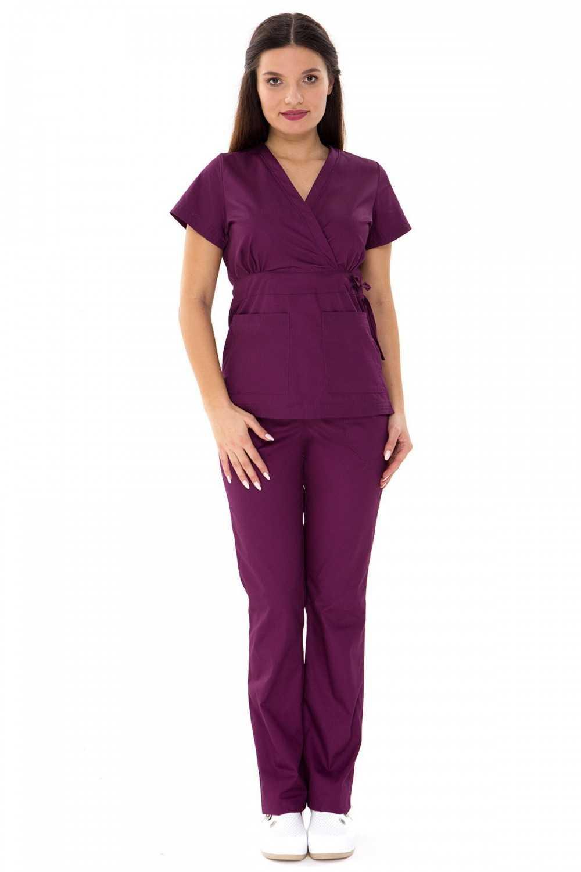 "Costum Medical ""PARTE PESTE PARTE"" Violet"