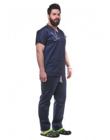 Costum Medical Clasic/Unisex Bleumarin
