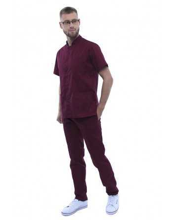"Costum Medical Barbatesc ""Tunică"" Violet"