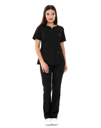 Costum Medical 1381 Negru