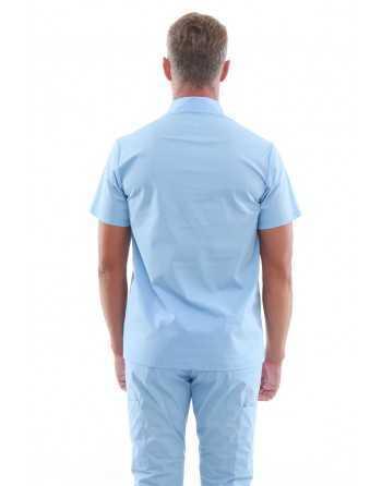 Costum Medical 50085 Albastru