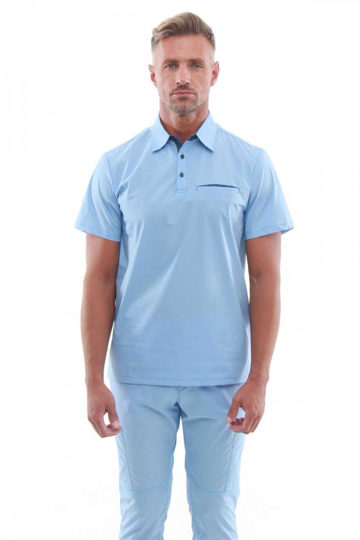 Costum Medical Barbati 50085 Albastru