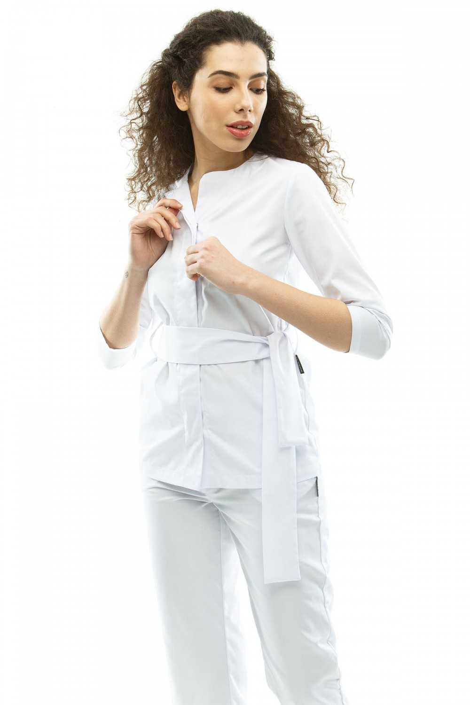 Costum Medical 3291 Alb