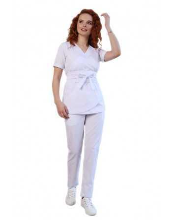 Costum Medical 3387 Alb