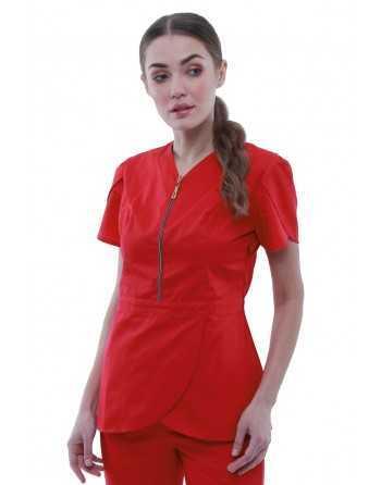 Bluza medicala 20 Rosu