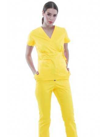 Costum Medical 1981 Galben
