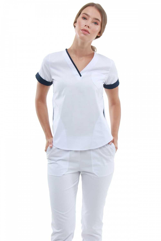 Costum Medical 1489 Alb