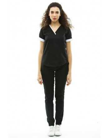 Costum Medical 1489 Negru