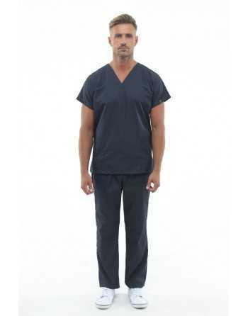 Costum Medical Barbati 0181 Gri Inchis