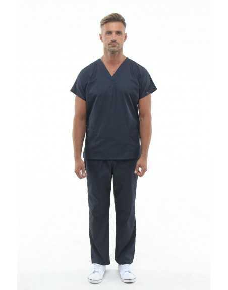 Costum Medical 0181 Gri Inchis