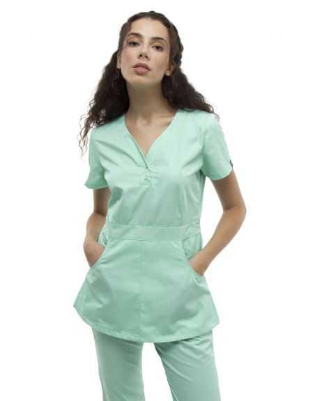 Costum Medical 1181 Verde Tiffany