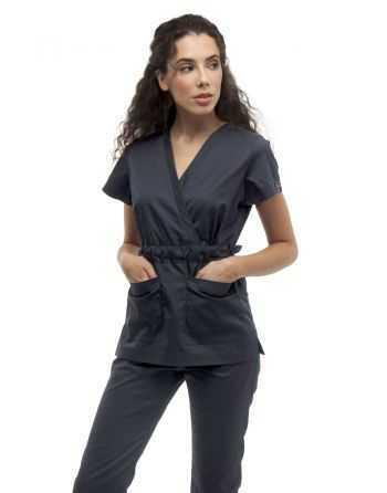 Costum Medical 1981 Gri Inchis