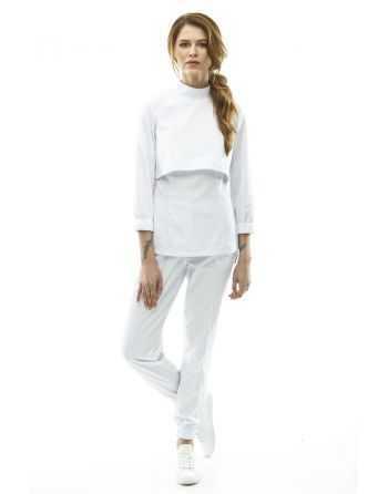 Costum Medical 3090 Alb